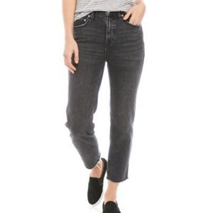 Free People Crvy Smokey High Rise Jeans NWT